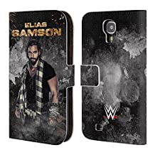 Official WWE LED Image Elias Samson Leather Book Wallet Case Cover For Samsung Galaxy Note 4
