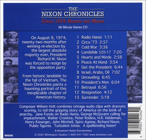 The Nixon Chronicles (Circa 1973) by Wilmington Studios