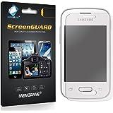 6 x Membrane Films de protection ecran Samsung Galaxy Pocket 2 II (SM-G110B, SM-G110B/DS, SM-G110H, SM-G110M, Duos) - Ultra clair autocollants, avec kit d'installation