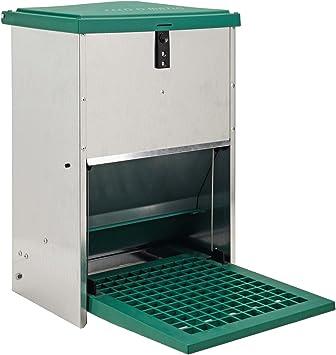 H/ühner Futterautomat Gefl/ügel Futterautomat 12 Kilo