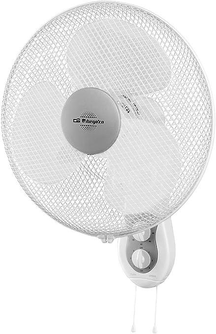 Orbegozo WF0139 Ventilador de Pared, 45 W, 3 Velocidades, Color ...