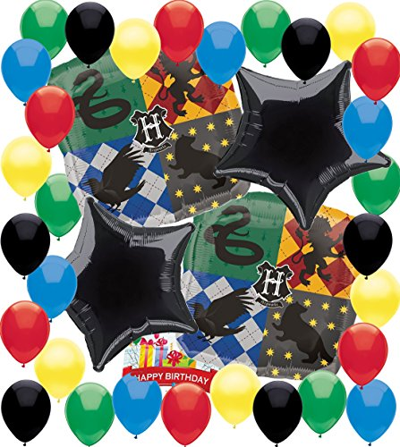 Harry Potter Party Supplies Birthday Balloon Decorations Bundle -