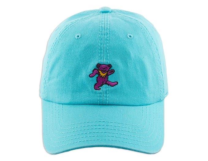 987e512a47448 Amazon.com  Ripple Junction Grateful Dead Tiny Purple Bear Dad Hat ...