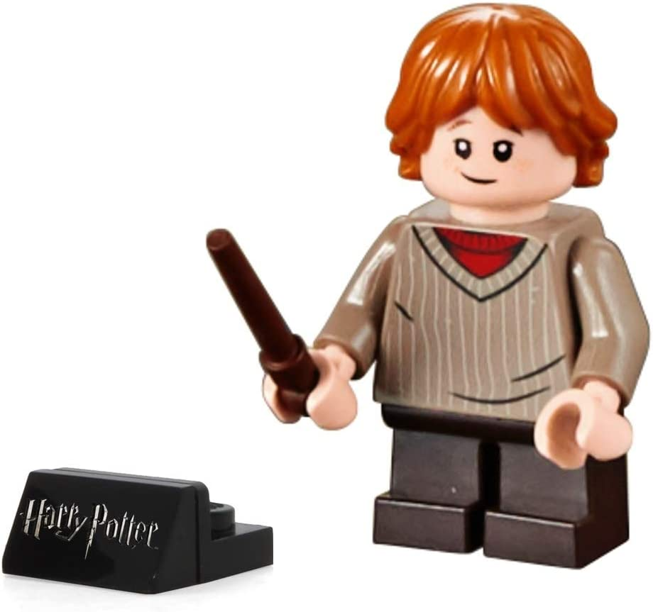 LEGO 2018 Harry Potter Minifigura, Ron Weasley (Dark Tan ...