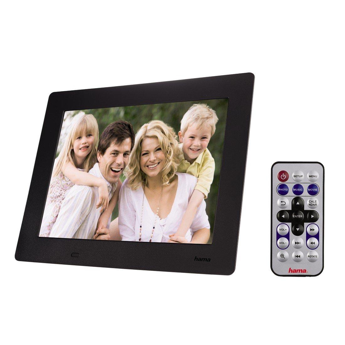 Hama 95228 Slimline Premium Digitaler Bilderrahmen 8: Amazon.de: Kamera