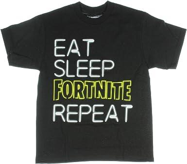 LivingTees Eat Sleep Loot Repeat Fortnight Pjs Youth
