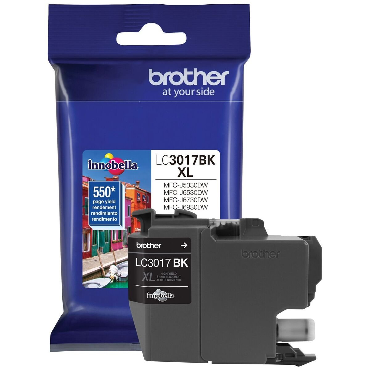 Brother LC3017BK High Yield Black Ink Cartridge by Brother (Image #1)