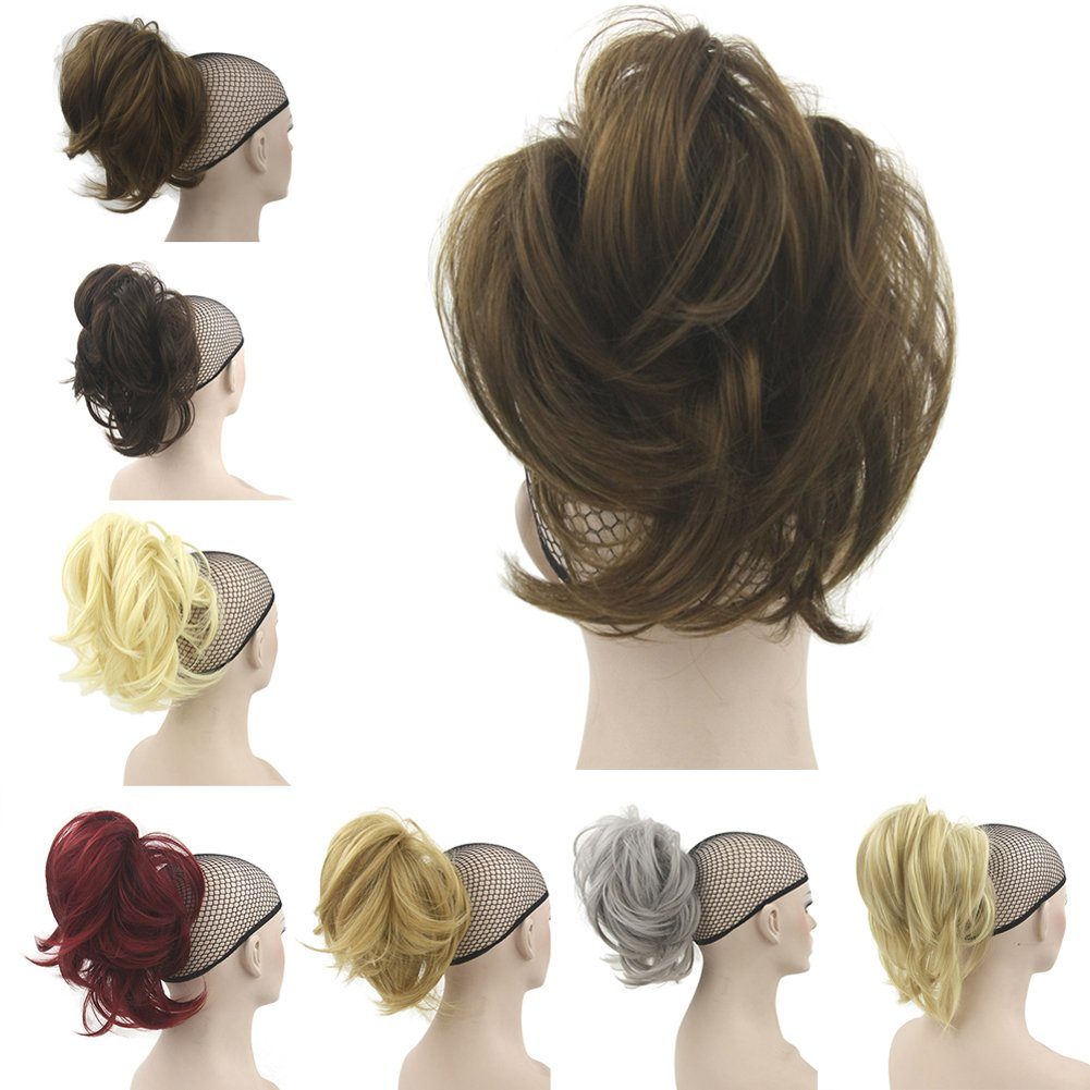 Deniya Short Hair Pieces and Ponytails for