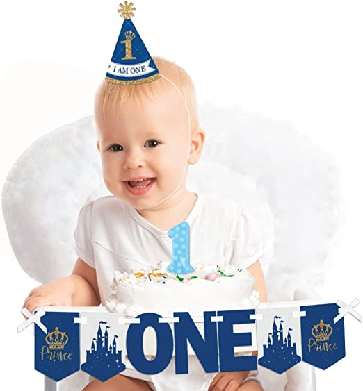 Admirable Amazon Com Royal Prince Charming 1St Birthday First Birthday Funny Birthday Cards Online Unhofree Goldxyz