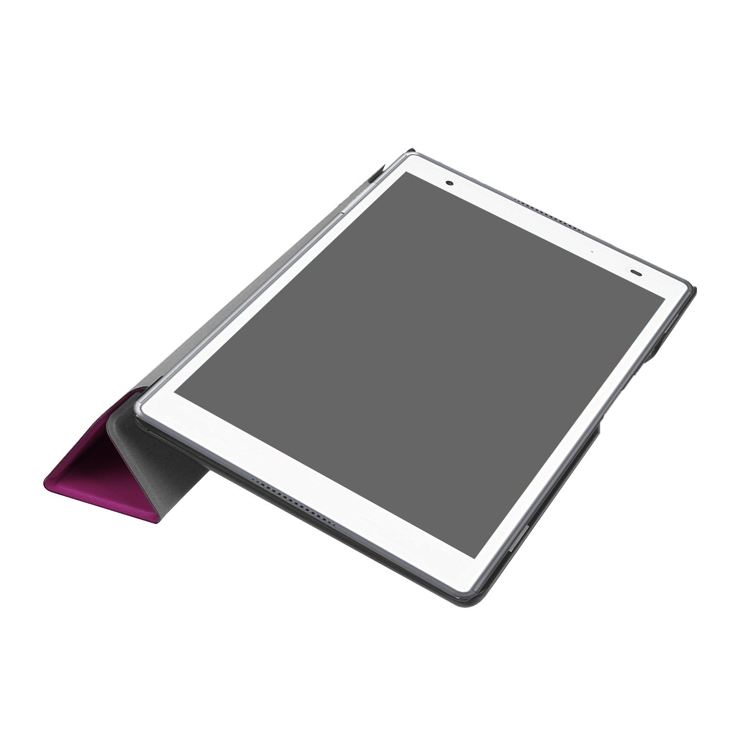 2017 Release Colorful Cube Ratesell Tri-Fold Ultra Slim Stand Smart Case Cover for Lenovo Tab 4 8 inch TB-8504F//N Lenovo Tab 4 8 TB-8504F Case