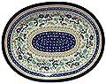 Polish Pottery Large Serving Platter Zaklady Ceramiczne Boleslawiec 1007-du157 Unikat Pattern