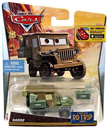 Disney/Pixar Cars, Carburetor County Road Trip, Sarge Die-Cast Vehicle by Disney