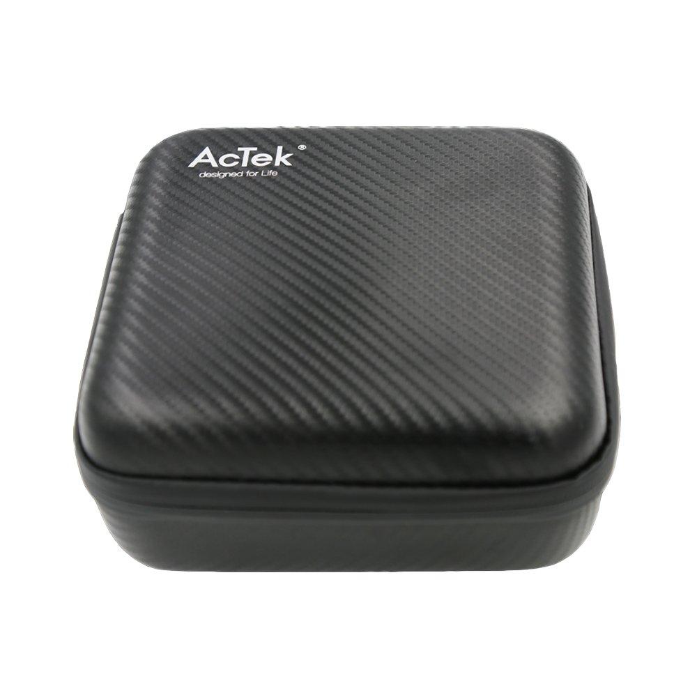 Hard Travel Carrying Case Bag for AcTek ET Mini Projector Only Black