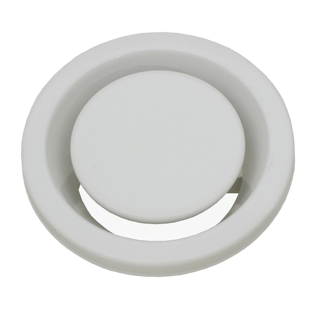 Lüftung Abluftventil/Tellerventil DN/Durchmesser Ø 125 mm Selfio