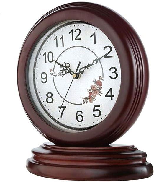 Reloj De Mesa De Escritorio De Madera, Reloj De Chimenea ...