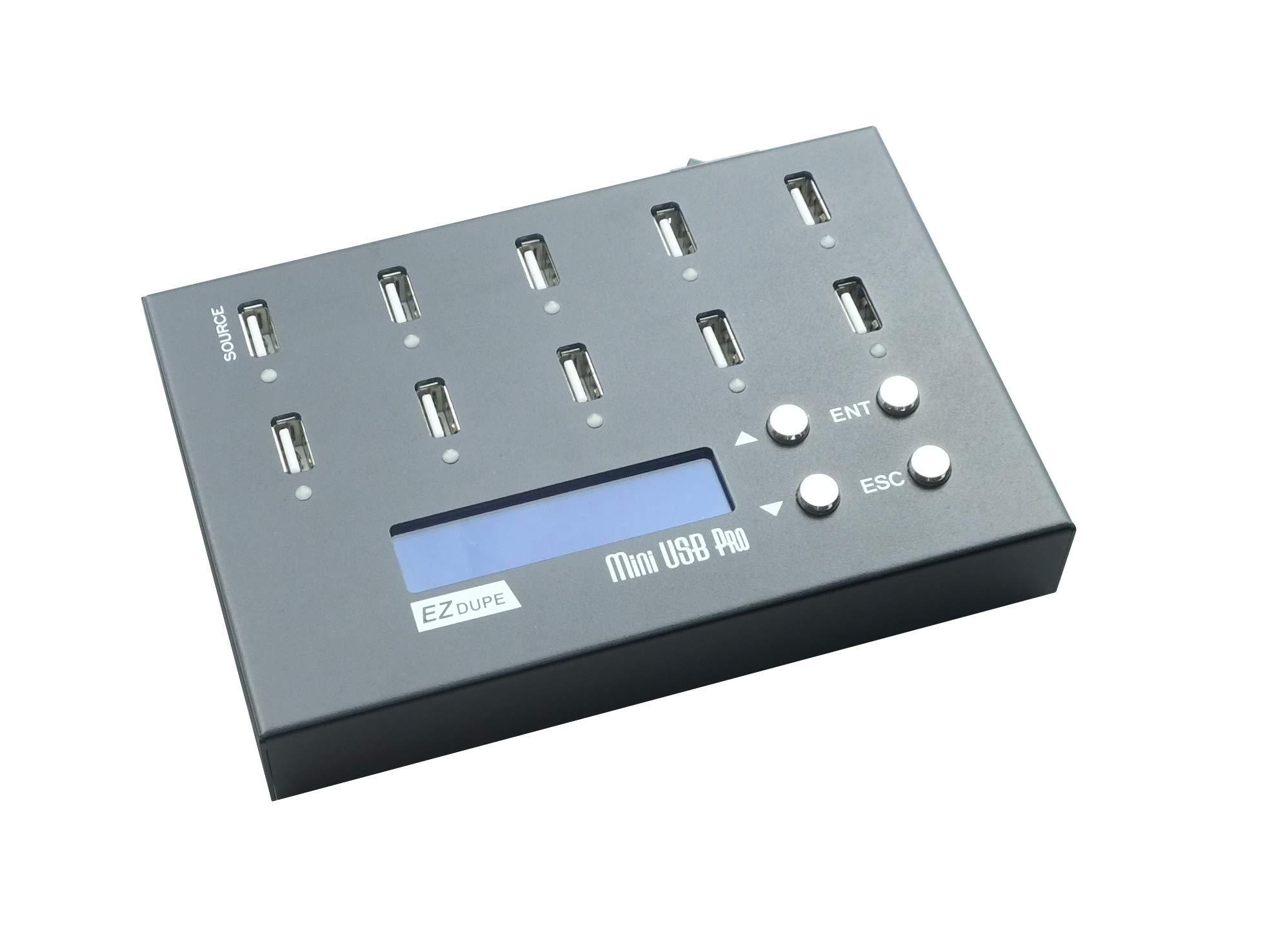 EZ DUPE 1 to 9 Mini USB Pro Duplicator Standalone