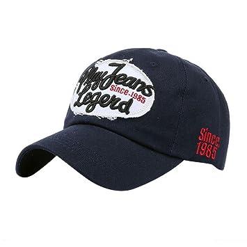 Btruely Herren_Gorra Gorras Beisbol, Hombre Mujer Sombreros de Verano Gorras de Camionero de Hip Hop Impresión Bordada, Talla única (Armada): Amazon.es: ...