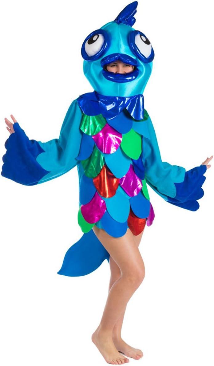 Disfraz de Pez azul para adultos: Amazon.es: Juguetes y juegos