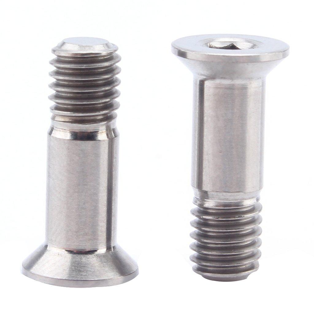Sharplace 2pcs Vis de D/érailleur Arri/ère Accessoire de V/élo Pratique et Durable