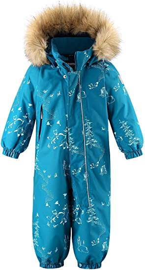Reima Kids Lappi Winter One-Piece Overall Snowsuit Insulated Outerwear