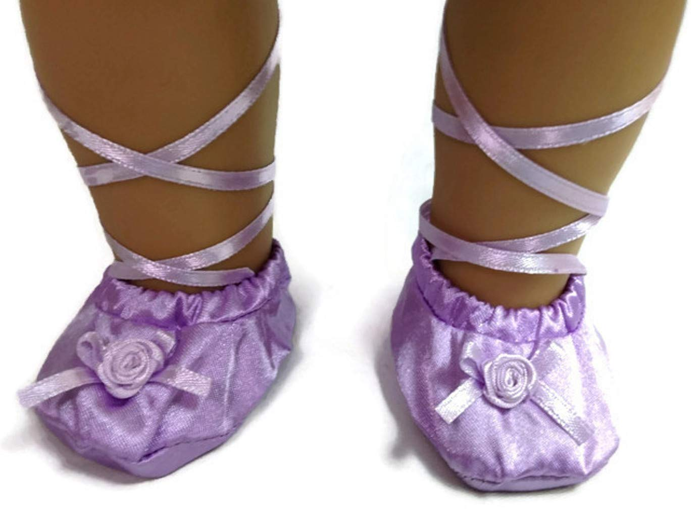Lavender Ballerina and Slippers for 18 inch American Girl Doll Clothes Po Fung Co