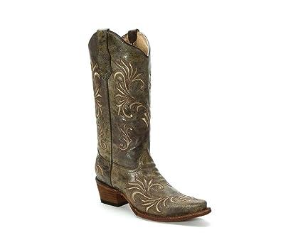 Corral Boots , Bottes Western et de Cowboy Femme: