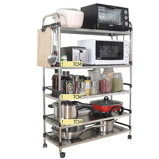 Storage shelf Estante de Acero Inoxidable para Cocina o baño ...