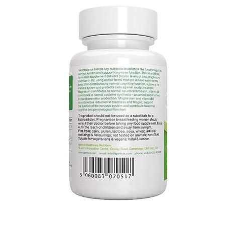 Neurobalance, zinc, magnesio y vitamina B6 suplemento para adultos y niños, 120 tabletas: Amazon.es: Salud y cuidado personal