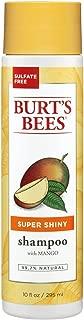 product image for Burt's Bees Super Shiny Mango Shampoo, Sulfate-Free Shampoo - 10 Ounce Bottle