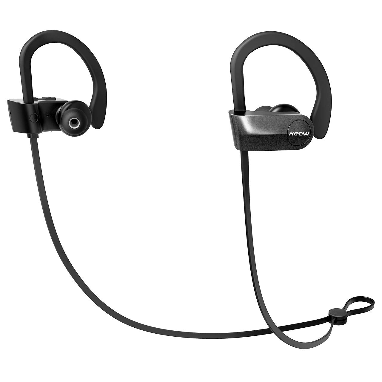 a00c1689be0d15 Mpow D7 [Upgraded] Bluetooth Headphones, IPX7 Waterproof Richer Bass Stereo  Wireless Sports Earbuds w/Mic, 10~12H Battery Noise Cancelling Earphones  for ...