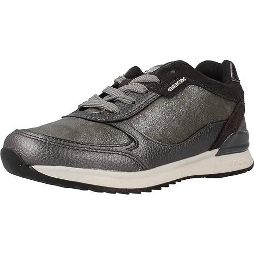 Zapatillas Deportivas Niña GEOX Maisie. -J6403B- Grey (37)