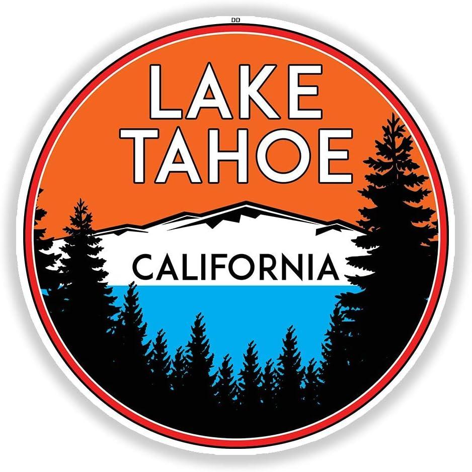 "4/"" tahoe ski patrol skiing california car sticker decal usa made"