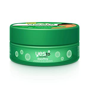 Yes To Cucumbers Depuffing Under Eye Masks, 8 Count