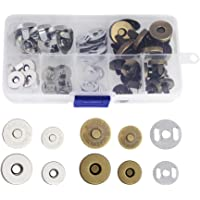 CODIRATO 20PCS Botónes Magneticos 14/18 mm Cierre Magnético