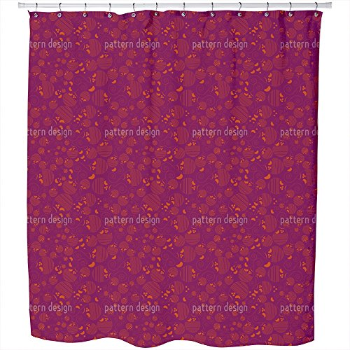 Uneekee Paisley Kids Shower Curtain: Large Waterproof Luxurious Bathroom Design Woven Fabric by uneekee