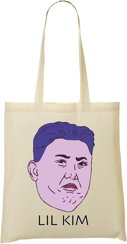LukeTee Lil Kim Jong Un Sac Fourre-Tout Sac /À Provisions