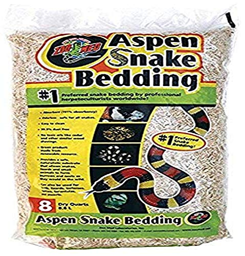 Zoo Med Aspen Snake Bedding 8 Quarts