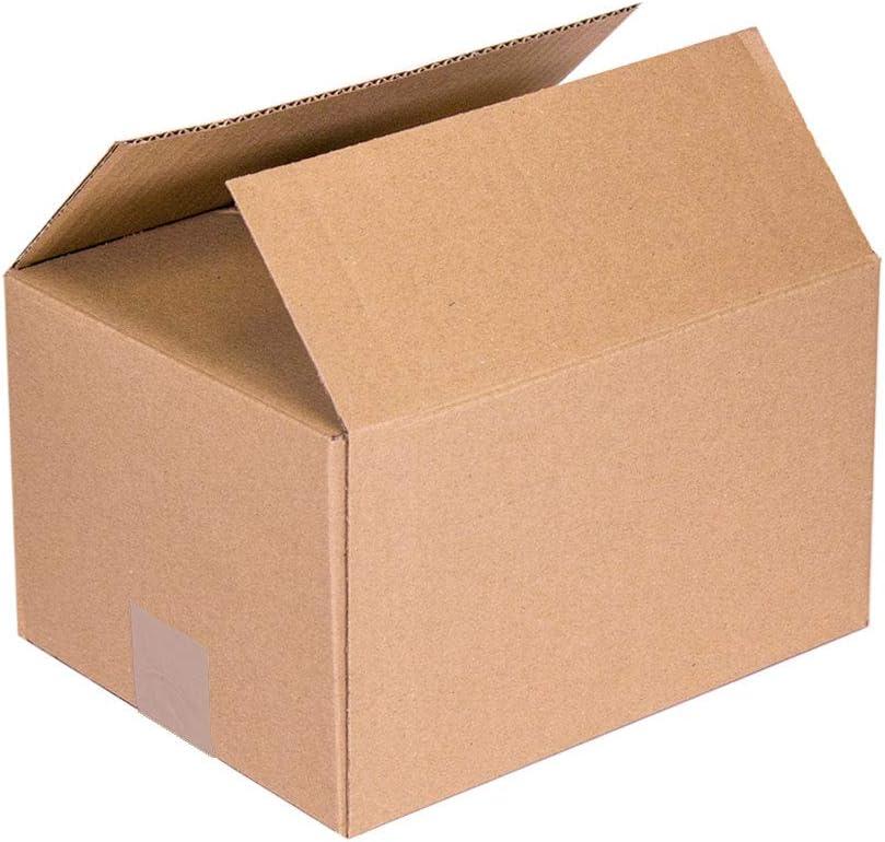 KARTOX | Cajas de Cartón | Canal Simple Reforzado | Caja almacenaje | Dimensiones: 40 x 30 x 30 | Caja con solapa | Pack 20 unidades: Amazon.es: Oficina y papelería