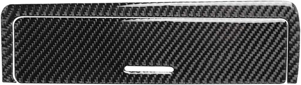 Domilay 6 Pezzi Set Cruscotto Strumento Console nel Fibra di Carbonio Scatola del Cambio Pannello Cornice Decalcomania Copertura Trim per BM-W 3 Serie E46 M3 98-06