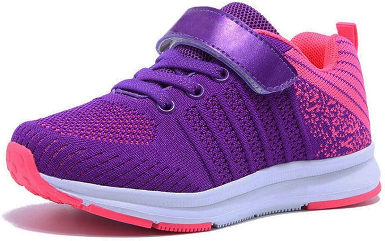 JOYORUN - Zapatillas de deporte para niña, para niña, para correr, para niños, unisex, para exteriores, color Rosa, talla 32 EU: Amazon.es: Zapatos y complementos