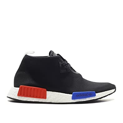 on sale 2f4fb 7c2ea Amazon.com | adidas NMD C1 Chukka OG Black Red Blue S79148 ...