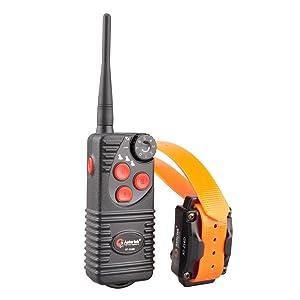 Aetertek 216D Electric Pet Dog Remote Shock Training Collar No Barking Submersible Rechargeable E-collar