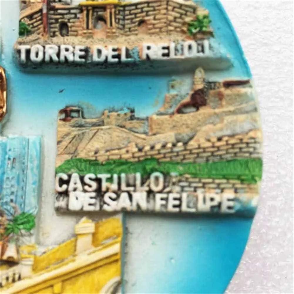 Francia Im/án de Nevera 3D Resina de la Ciudad de Viaje Recuerdo Colecci/ón de Regalo Fuerte Etiqueta Engomada refrigerador Weekino Par/ís