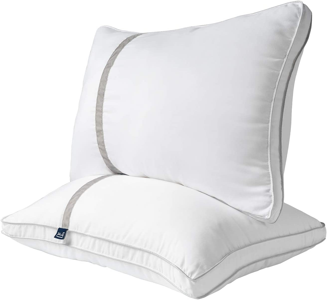 BedStory Pillows for Sleeping 2 Pack, Hotel Collection Down Alternative Bed Pillow King Size, Hypoallergenic Pillow for Side and Back Sleepers, Ultra Soft & Breathable