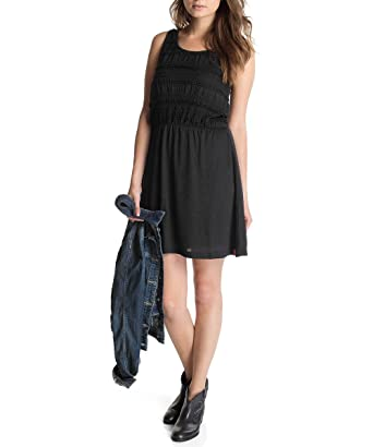 Pinifore Dress - Black Esprit cr6Zw4zi0