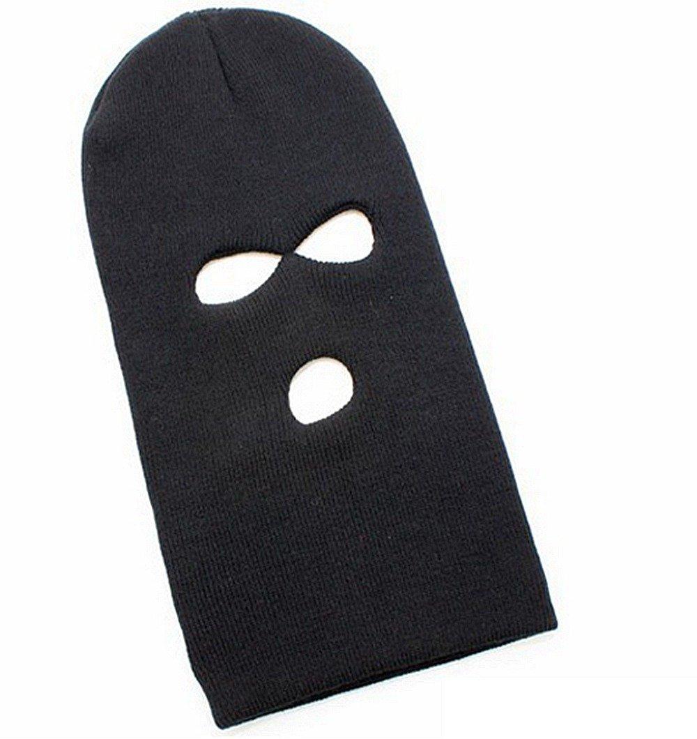 DAYAN Cappello maschera copricapo vento caldo passamontagna bicicletta campo sportivo Maschera Sottocasco sci colore nero