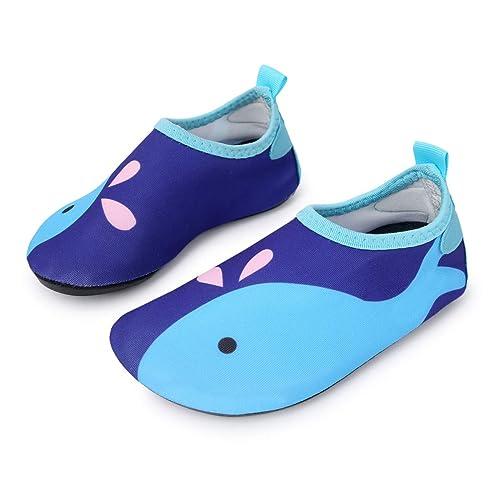 Amazon.com: L-Run - Zapatillas de natación para niños con ...
