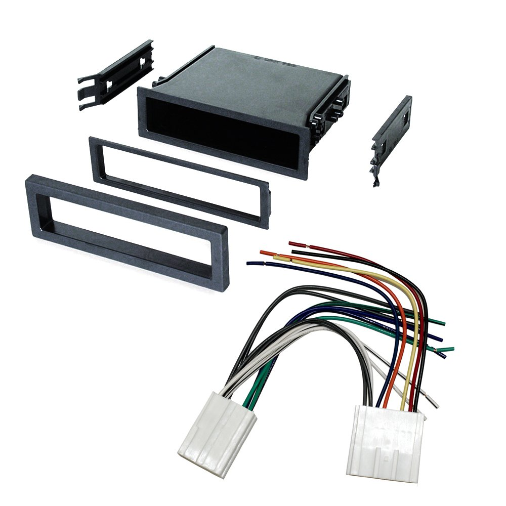61SNU2sV3lL._SL1000_ amazon com car stereo radio dash installation mounting kit  at soozxer.org