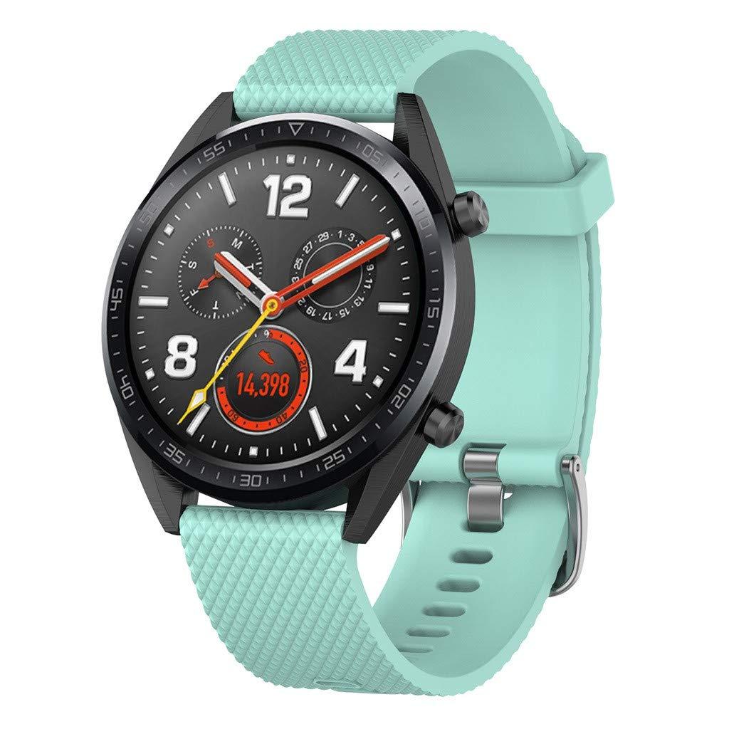 para Huawei Watch GT Correa, Heligen Correa para la muñeca con Banda de Reloj de reemplazo de Silicona Grande para Huawei Watch GT: Amazon.es: Electrónica