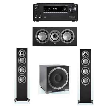 Amazon com: ELAC Uni-Fi 3 1 System with 2 UF5 Floorstanding